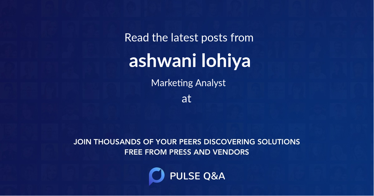 ashwani lohiya