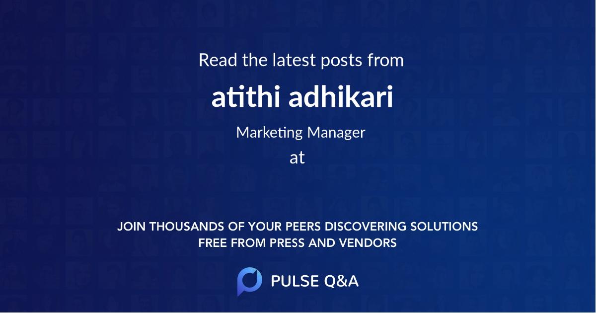 atithi adhikari