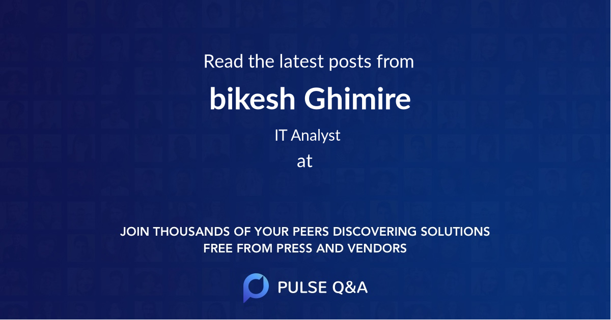 bikesh Ghimire