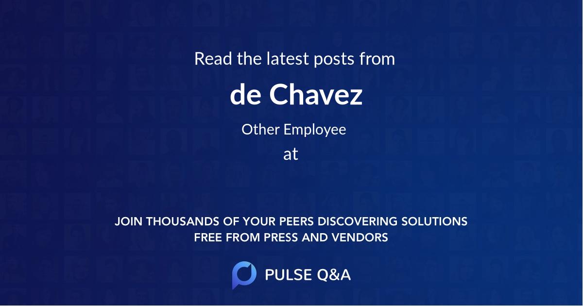 de Chavez