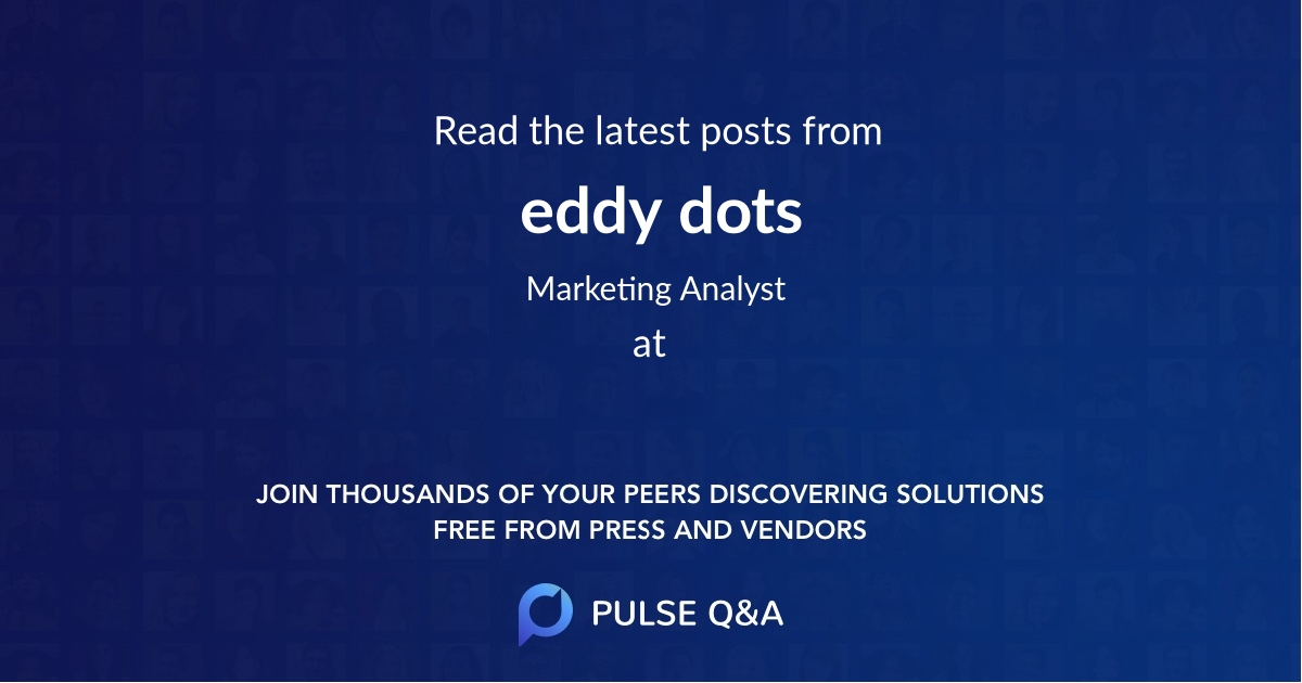 eddy dots