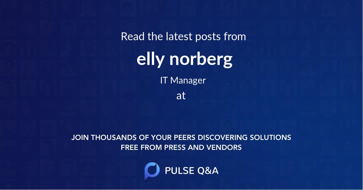elly norberg