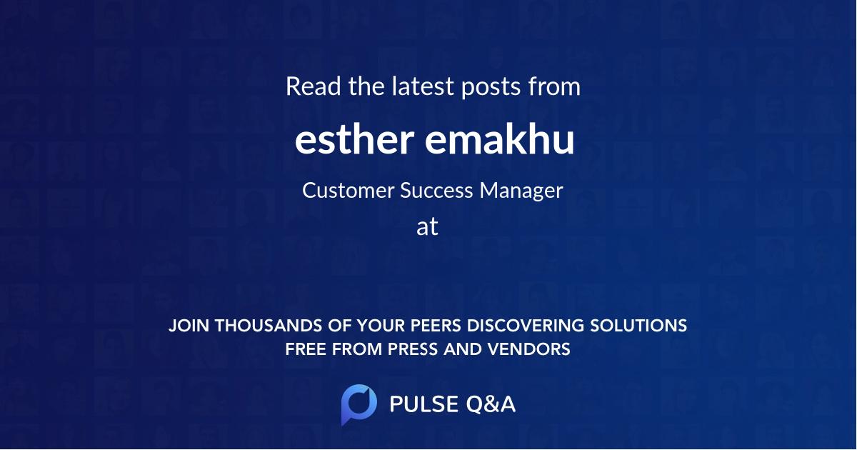 esther emakhu