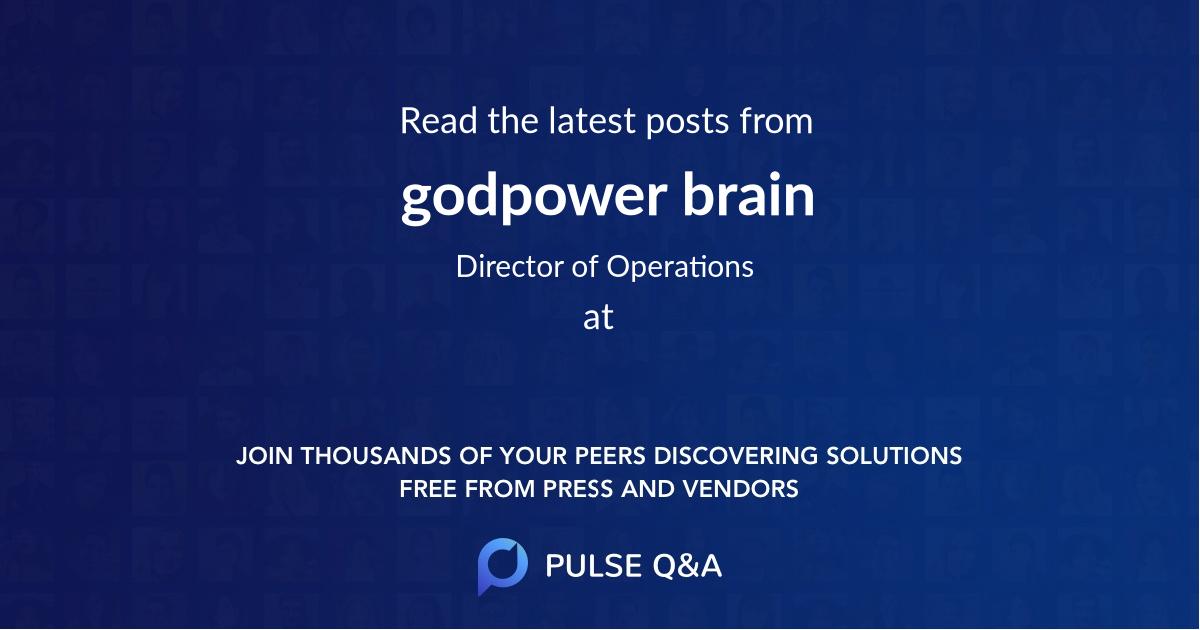 godpower brain