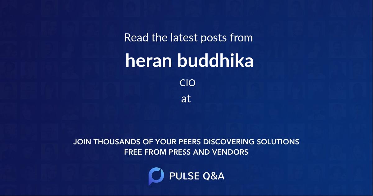 heran buddhika