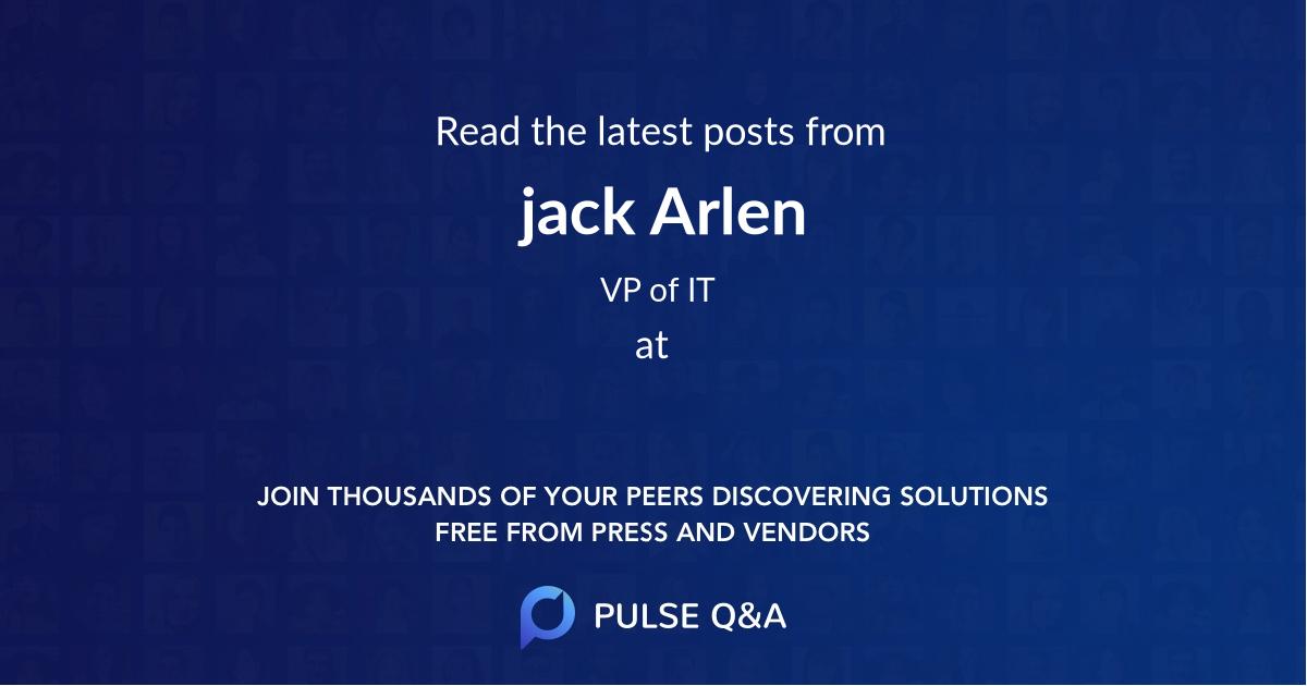 jack Arlen