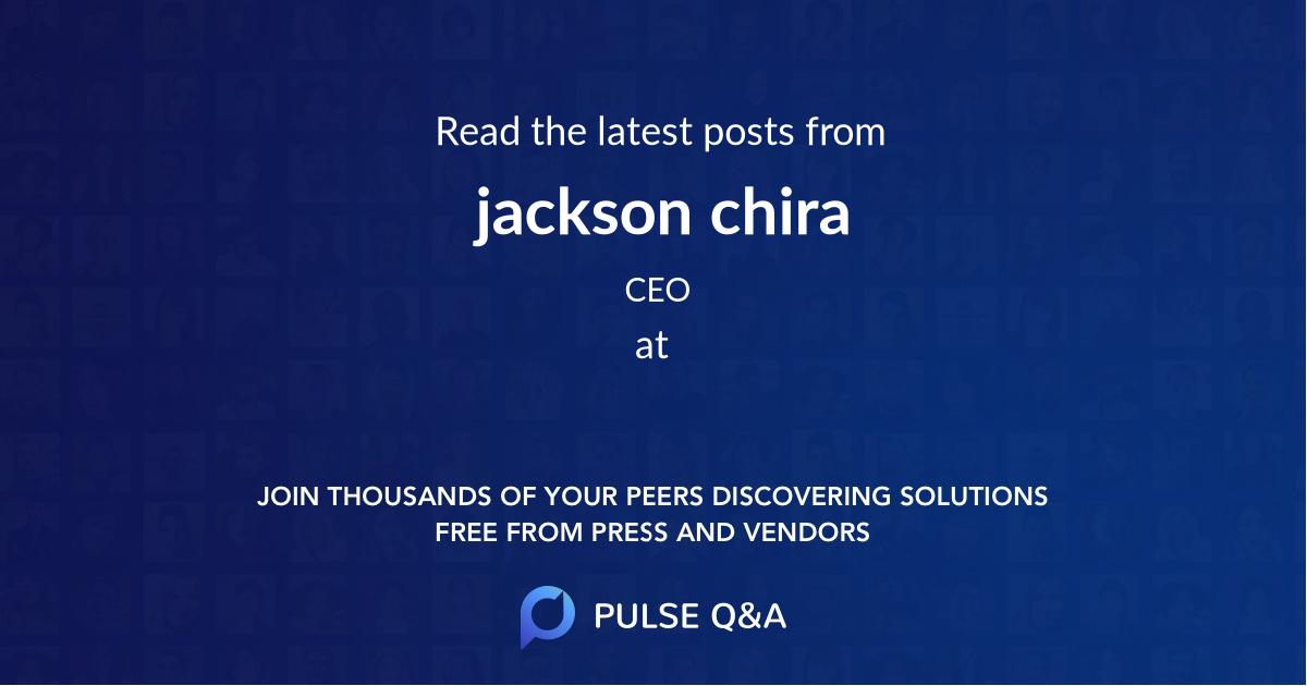 jackson chira