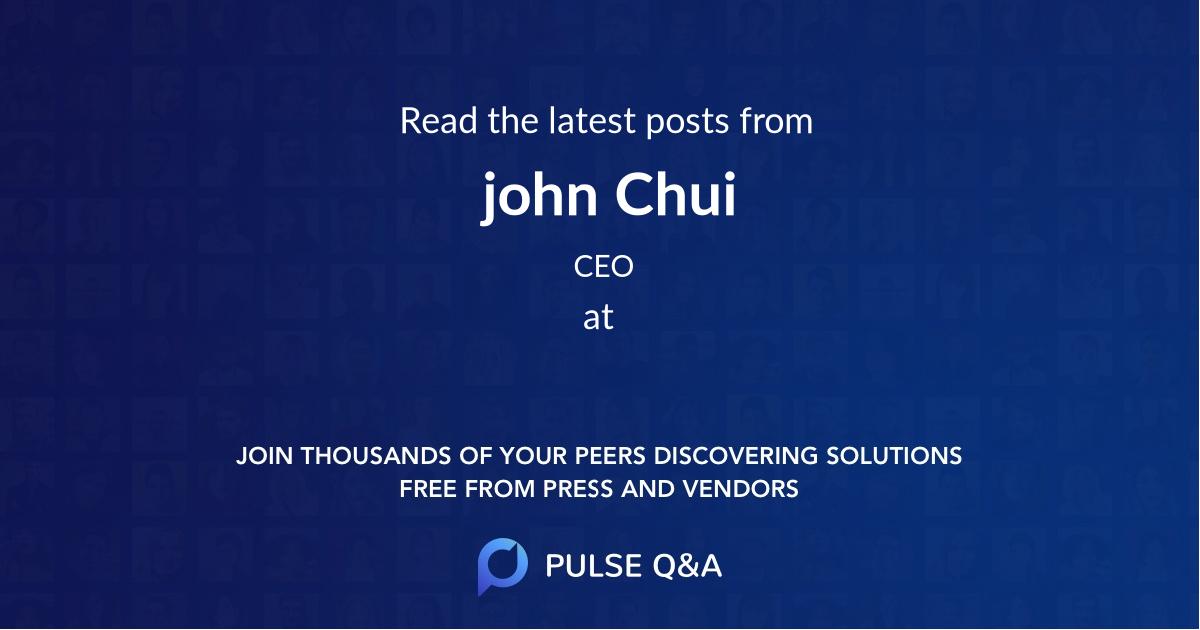 john Chui