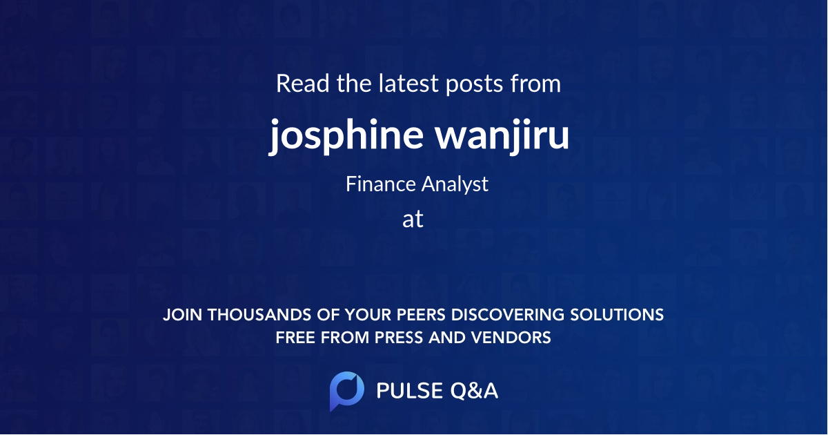 josphine wanjiru