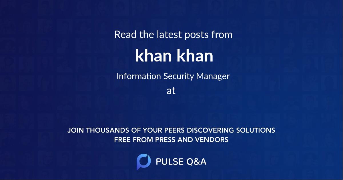 khan khan