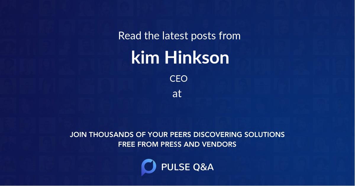 kim Hinkson
