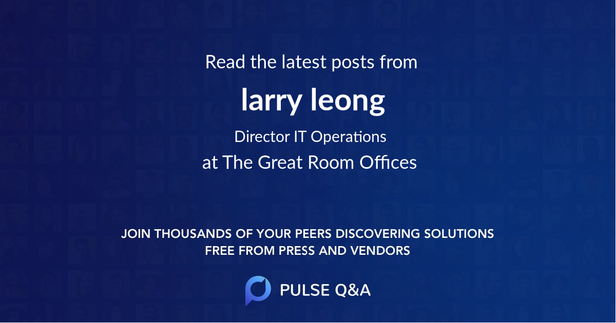 larry leong
