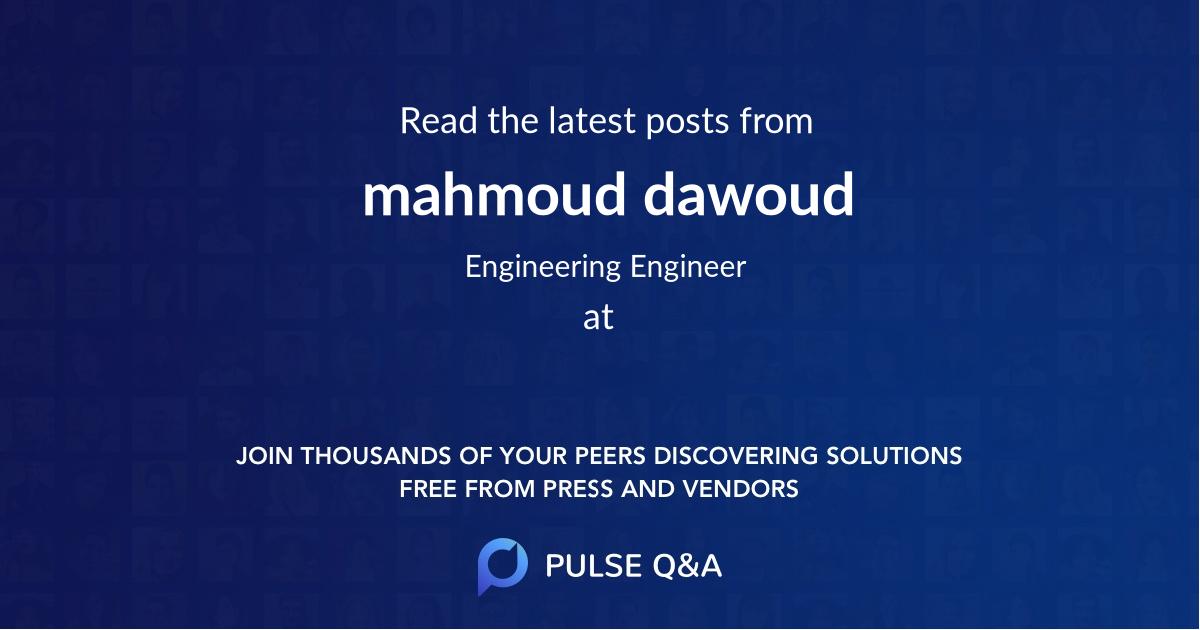 mahmoud dawoud