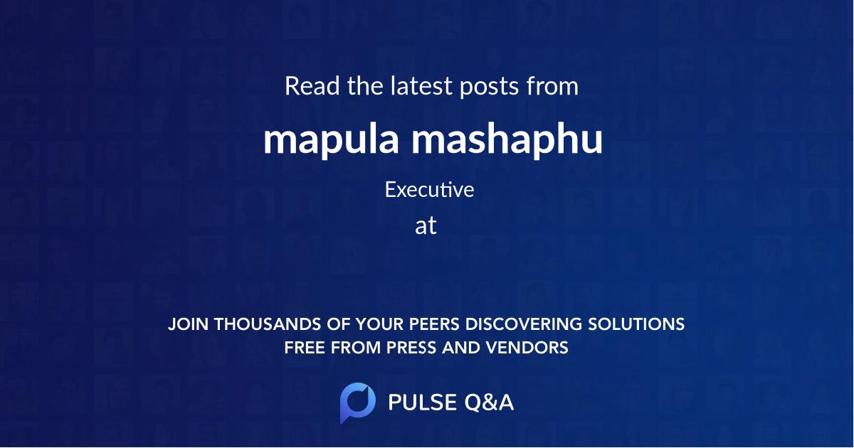 mapula mashaphu