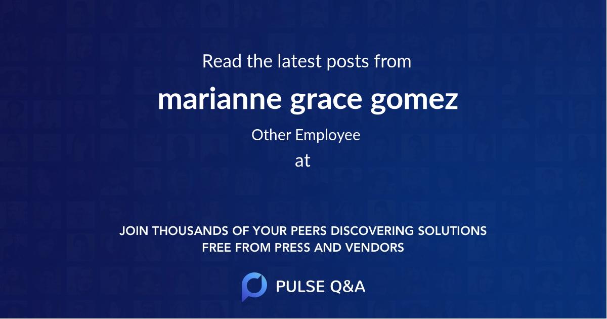 marianne grace gomez