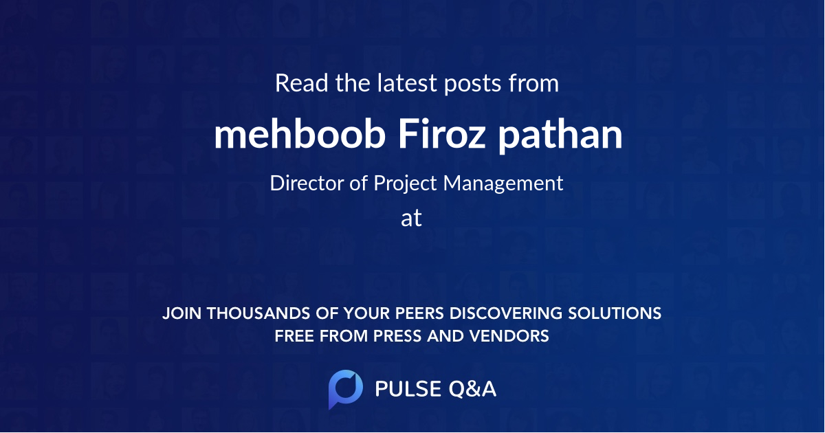 mehboob Firoz pathan