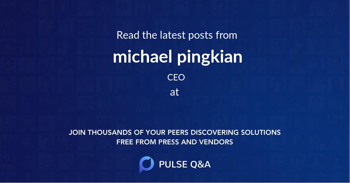 michael pingkian