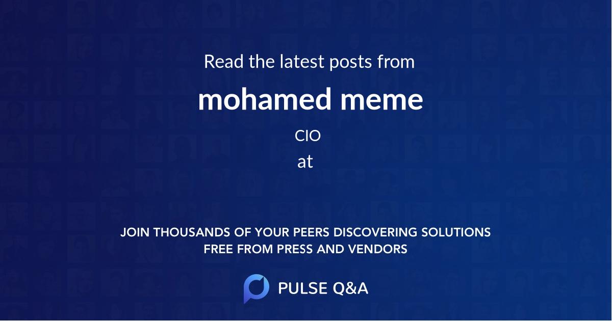 mohamed meme
