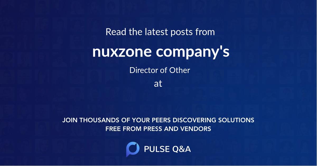 nuxzone company's