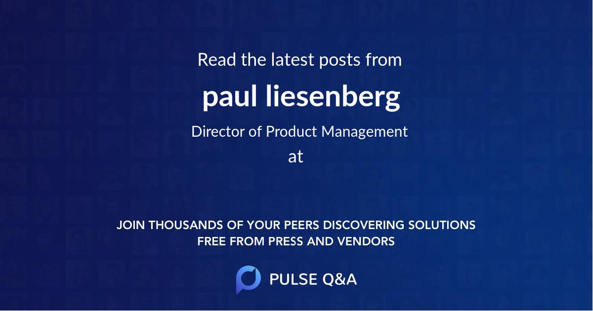 paul liesenberg