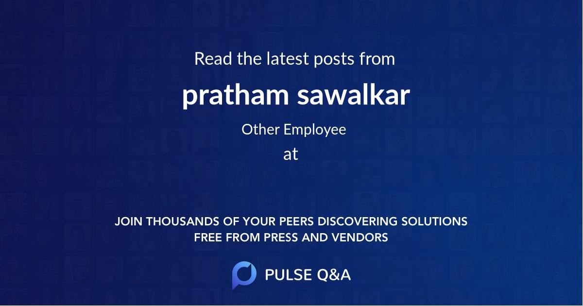 pratham sawalkar