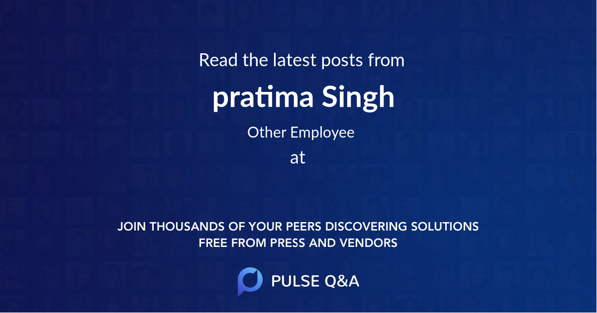 pratima Singh