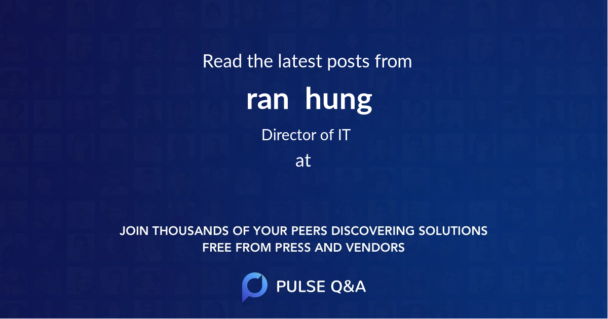 ran  hung