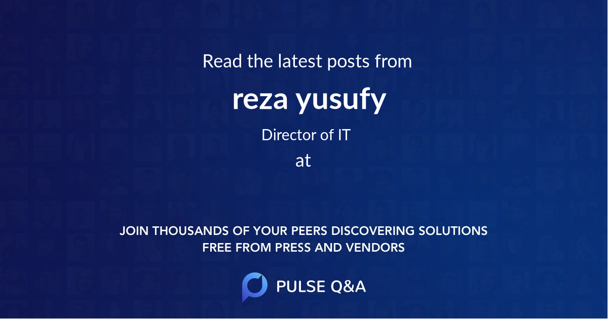 reza yusufy