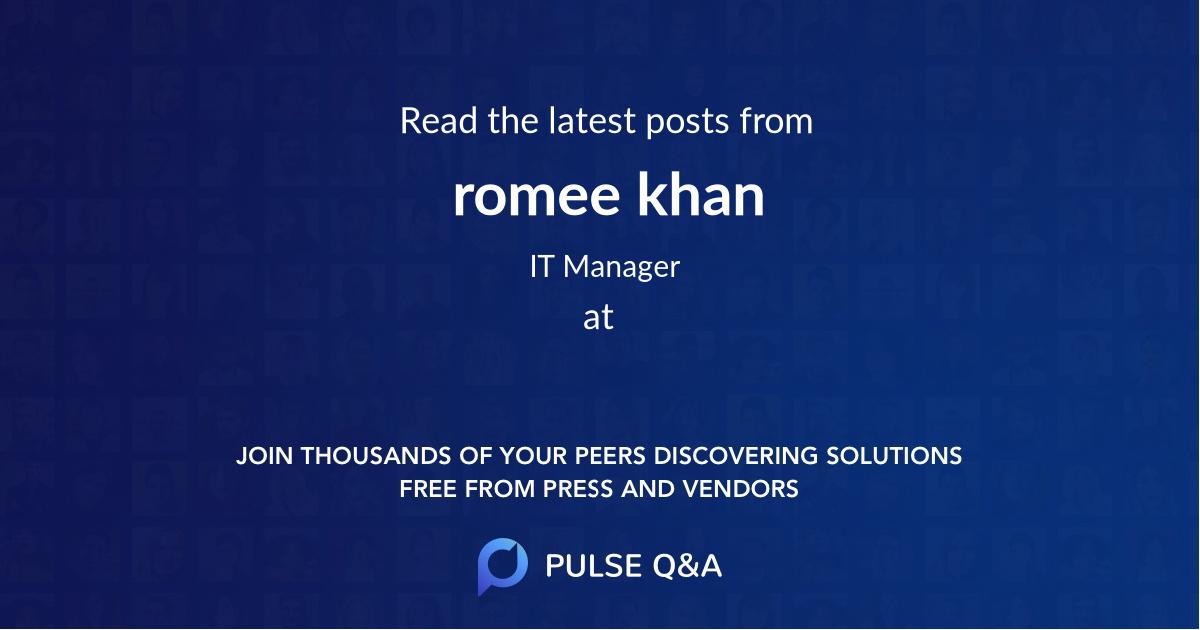 romee khan