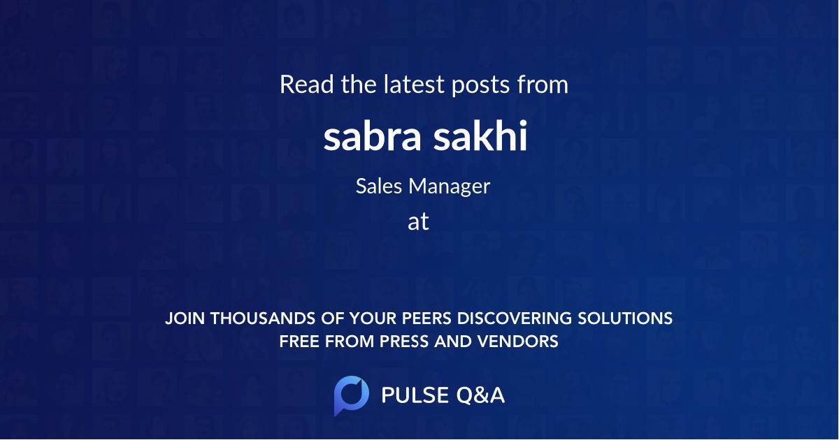 sabra sakhi