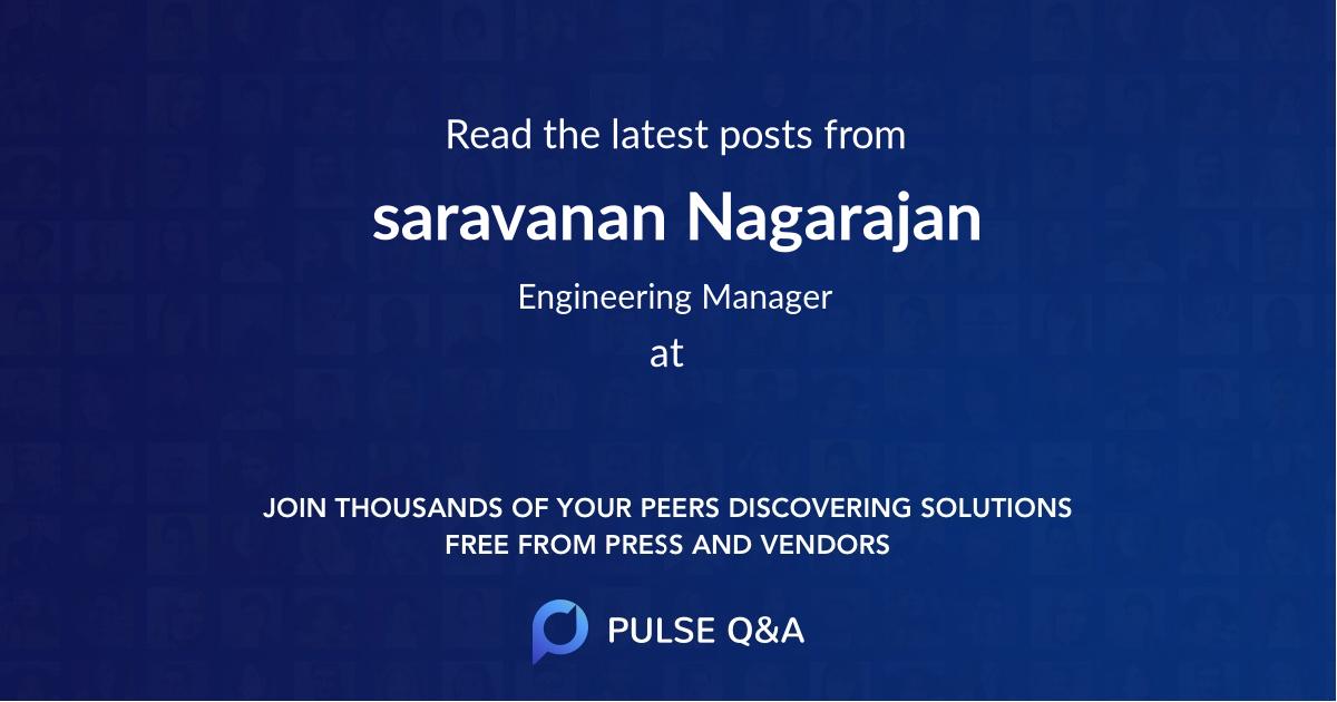 saravanan Nagarajan