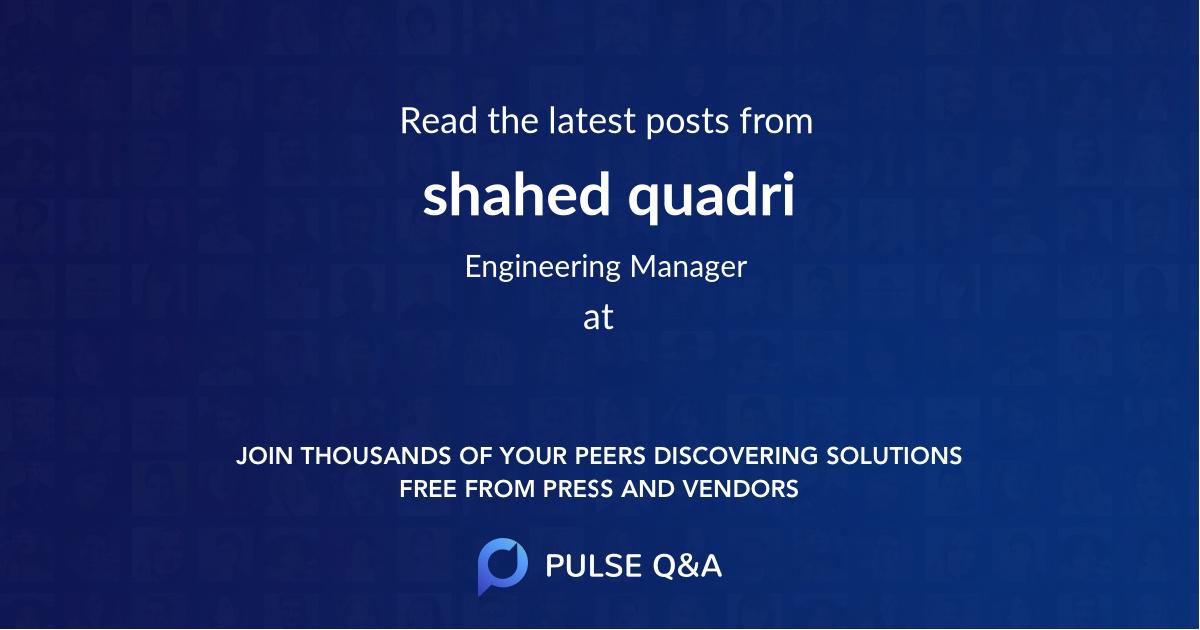 shahed quadri