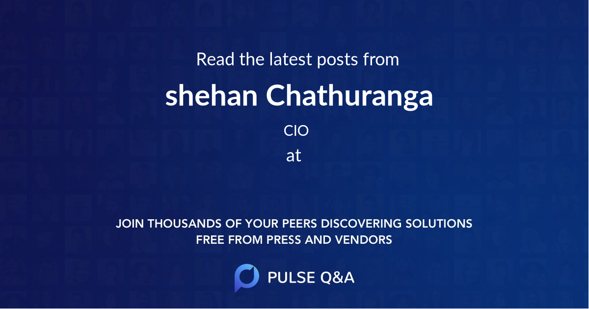 shehan Chathuranga