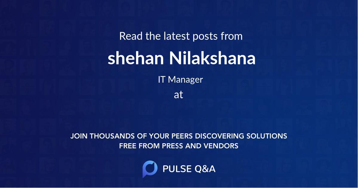 shehan Nilakshana
