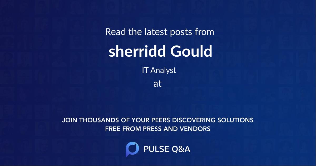 sherridd Gould