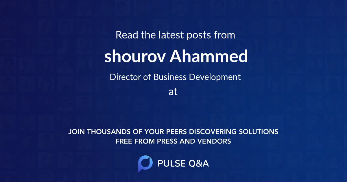 shourov Ahammed