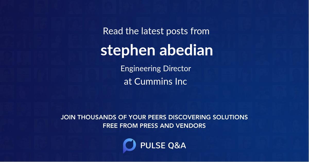 stephen abedian