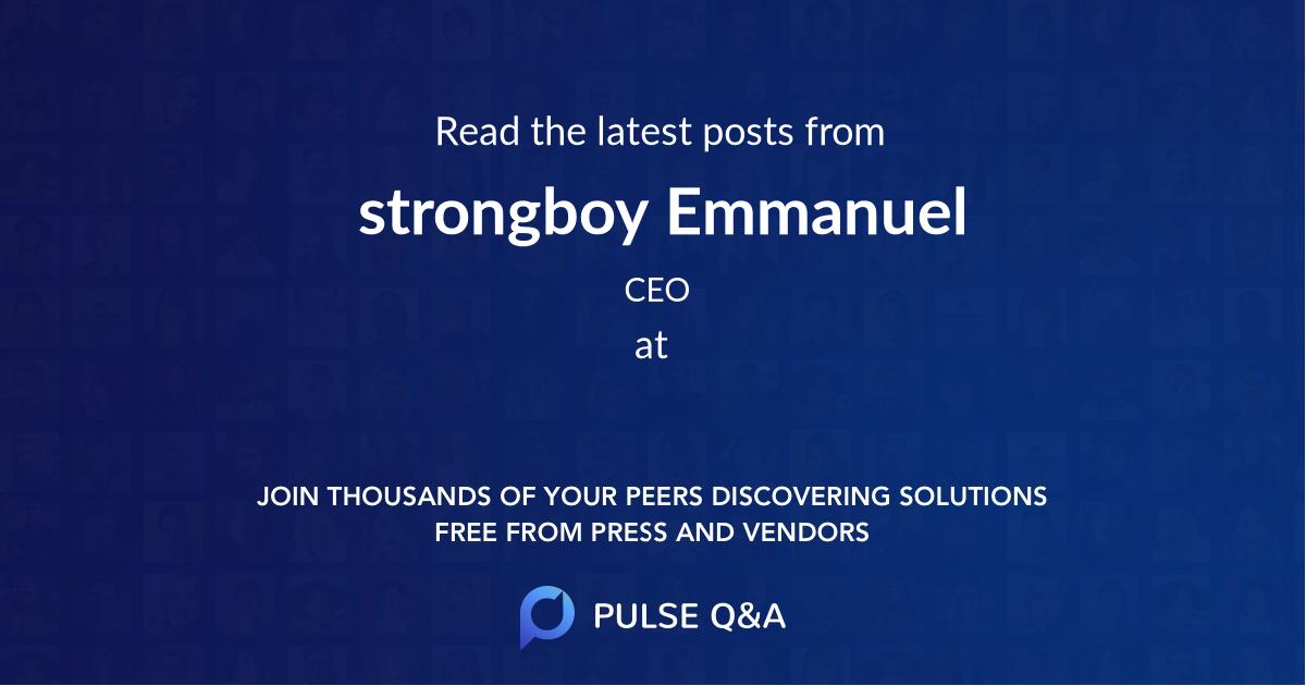 strongboy Emmanuel