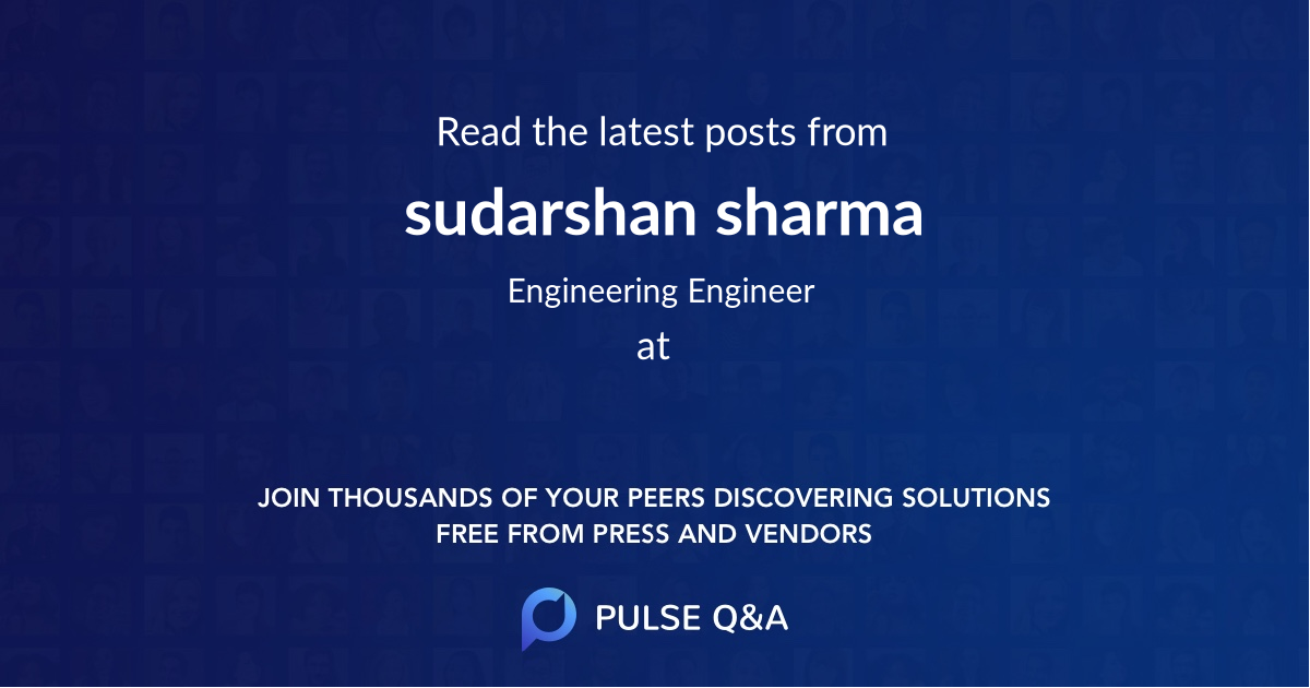 sudarshan sharma