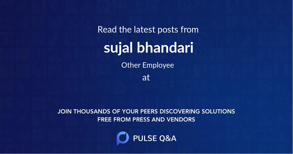 sujal bhandari