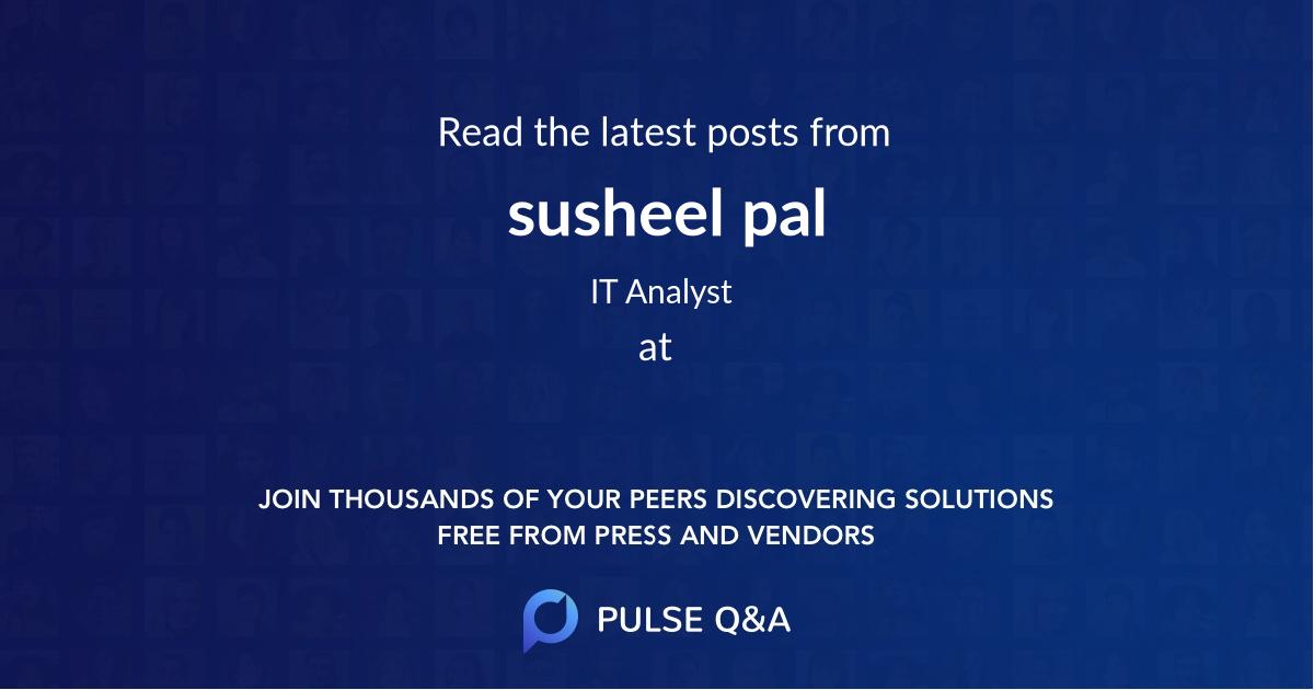 susheel pal