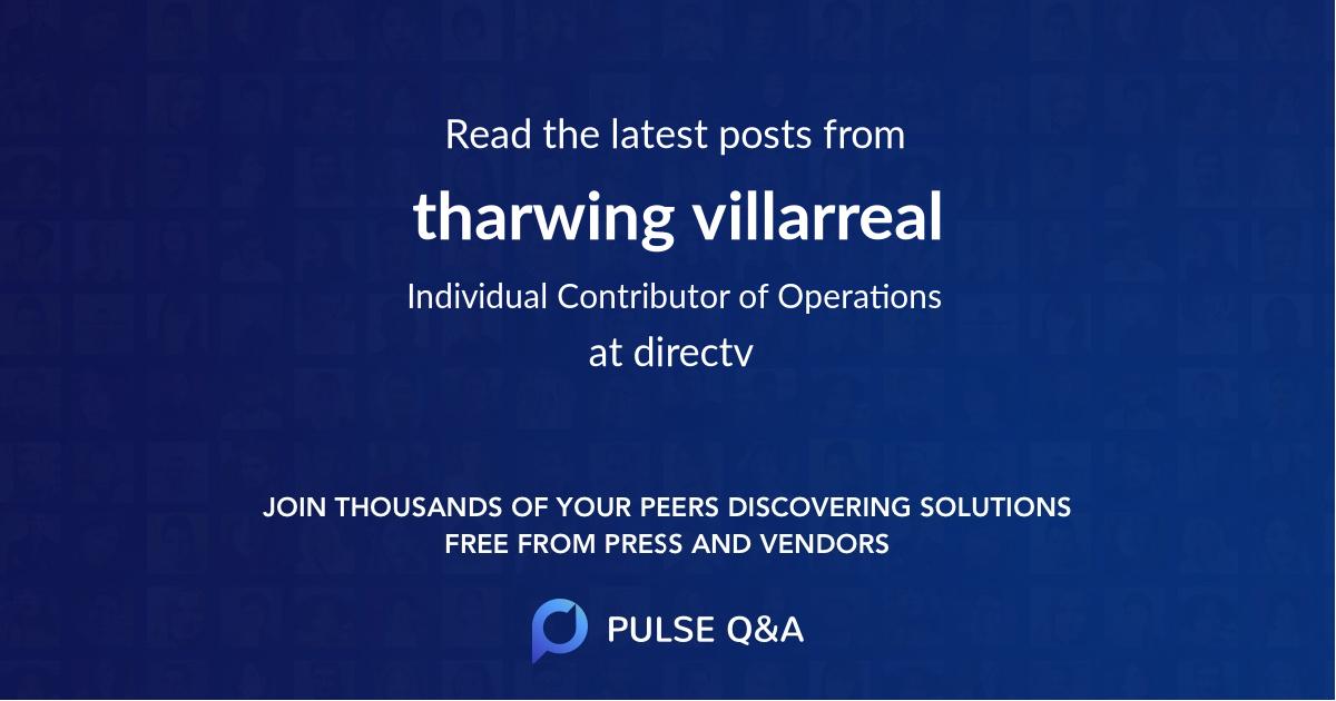 tharwing villarreal