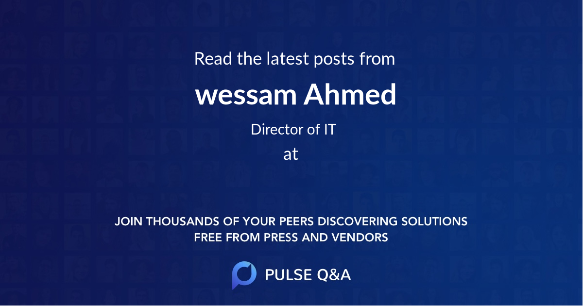 wessam Ahmed