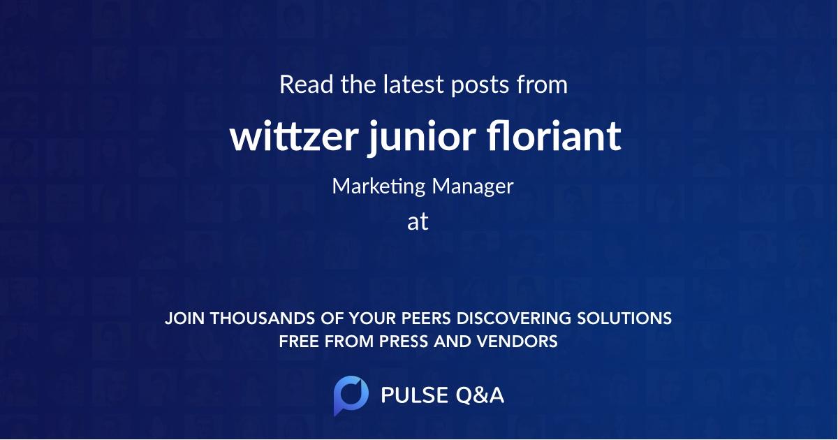 wittzer junior floriant