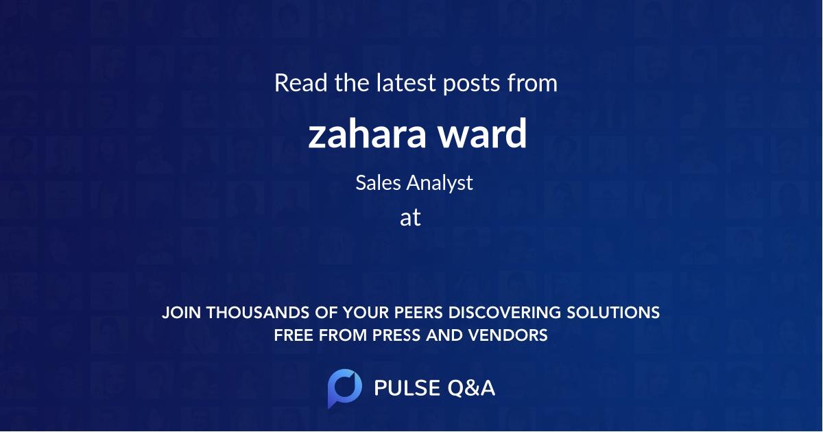 zahara ward