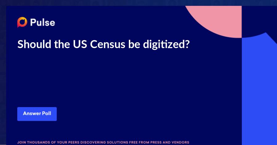 Should the US Census be digitized?https://www.wfmj.com/story/41706739/shift-to-digital-census-raises-fear-of-iowa-like-breakdown