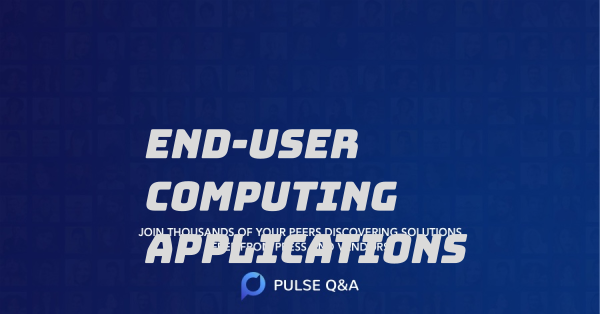 End-User Computing Applications