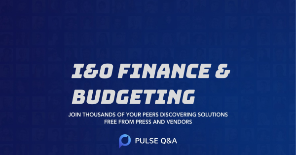 I&O Finance & Budgeting