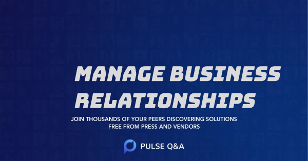 Manage Business Relationships