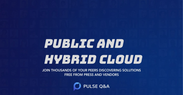 Public and Hybrid Cloud